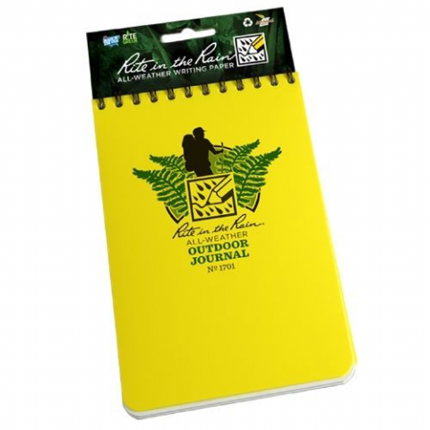 Outdoor Journal Top Spiral Bound - Waterproof Paper